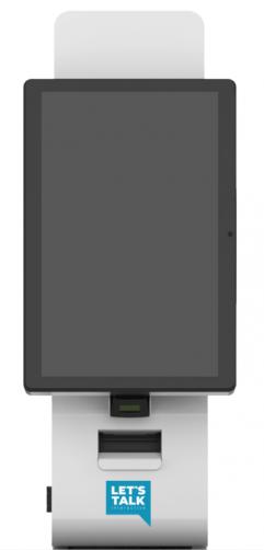 LTI Premier Preferred Tabletop Kiosk