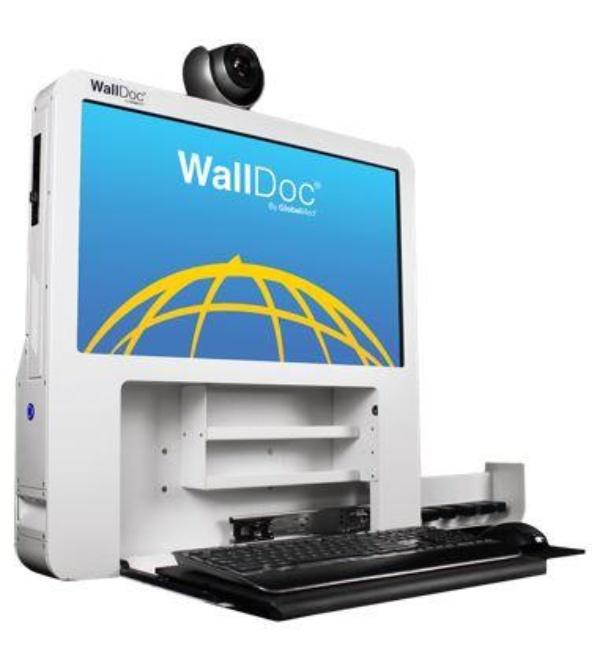LTI WallDoc Telemedicine Cart