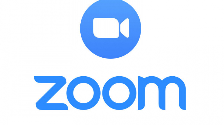 Zoom logo with icon